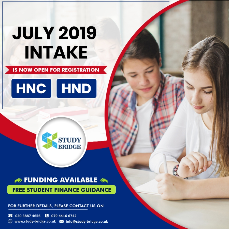 study HNC in UK
